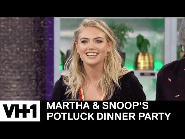 Kate Upton LL Cool J Decipher Snoop's Tweets 'Sneak Peek' | Martha Snoop's Potluck Dinner Party