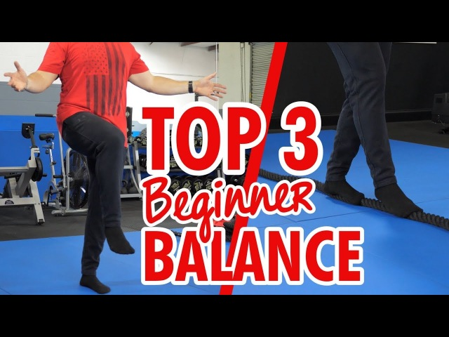 TOP 3 Balance Exercises for Beginners How to Get Started