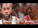 Lebron James vs Michael Jordan - Which Behind The Back Move is Better?