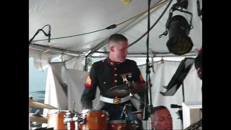 1st Marine Division BIg Band - Children of Sanchez