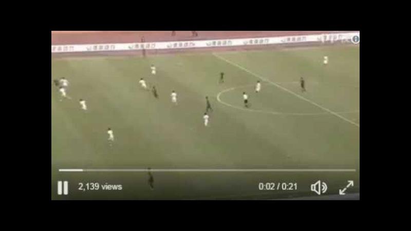 Dino Ndlovunun Çin klubundakı ilk qolu