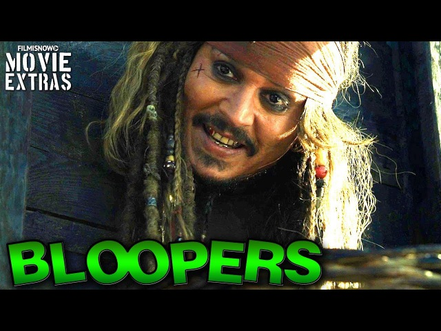 Pirates of the Caribbean: Dead Men Tell No Tales Bloopers Gag Reel [Blu-Ray/DVD 2017]