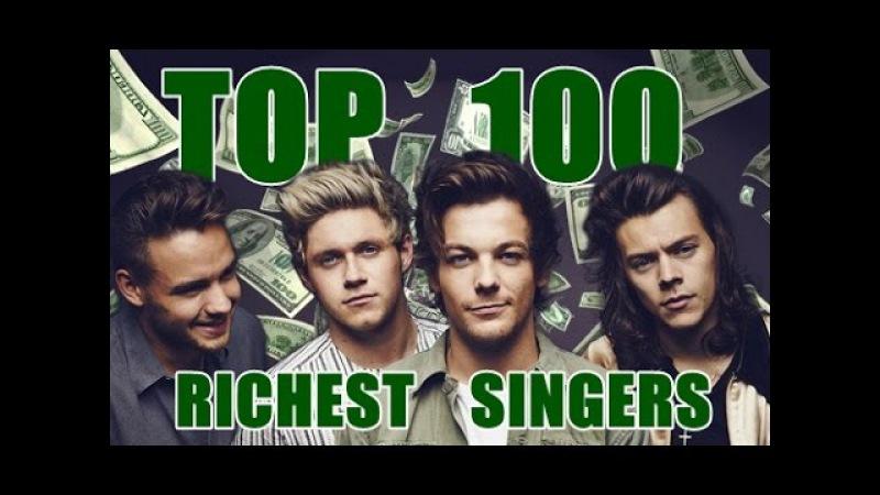 Top 100 Richest Singers