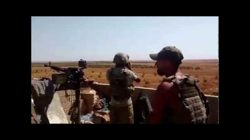 Сирия Смертоносная карусель русский спецназ наводит Ми 28 на боевиков