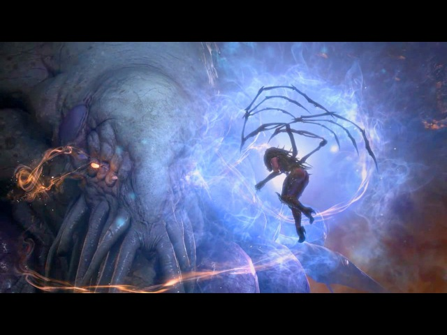Cycle's End: Kerrigan Becomes Xel'naga Scene (Starcraft 2 Epilogue | Void | Ouros)