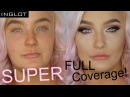 SUPER FULL COVERAGE Makeup Tutorial INGLOT AUSTRALIA