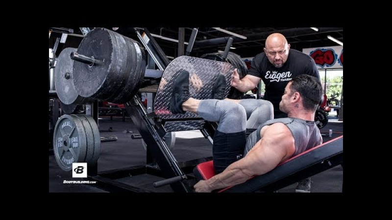 FST-7 Quads Workout with 4x Physique Olympia Jeremy Buendia Hany Rambod | FST-7: Big and Ripped
