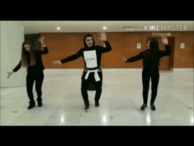 Ramil Qasanov Qiz Telebeleriiyle Möhteşem Lezginka Rəksi 2018