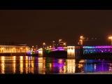 Невский проспект. Новогодний ночной Петербург