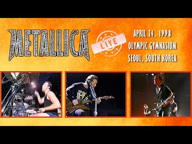 Metallica - Across Under - ReLoading The Rim 98 (Live in Korea) [UPGRADE]