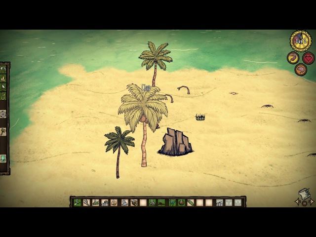 Don't Starve: Shipwrecked - Неизведанные острова