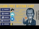 FREE EARN 1BITCOIN FAST ONE SITE LOT MORE BENEFITS COINTIPLY EARN FAUCET GAME VIDEO MiningGurus