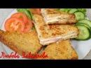 Идея для завтрака -Гренки с Секретом-съедаются моментально!/Toast with stuffing