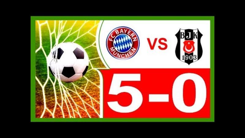 Bayern Munich vs Beşiktaş JK Championnat d'Europe de football