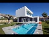Modern villa with private pool in Sierra Cortina, Benidorm
