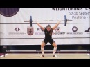 Women U15 63kg - 2017 EUROPEAN WEIGHTLIFTING CHAMPIONSHIPS U15 U17