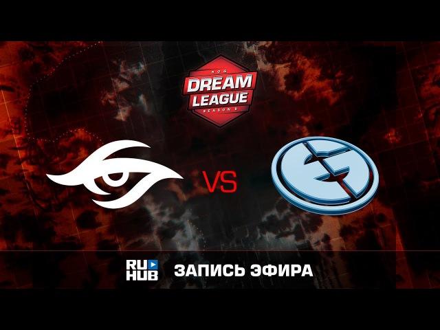 Team Secret vs Evil Geniuses- Game 2, Winner Bracket Quarterfinals - DreamLeague Season 8 2017