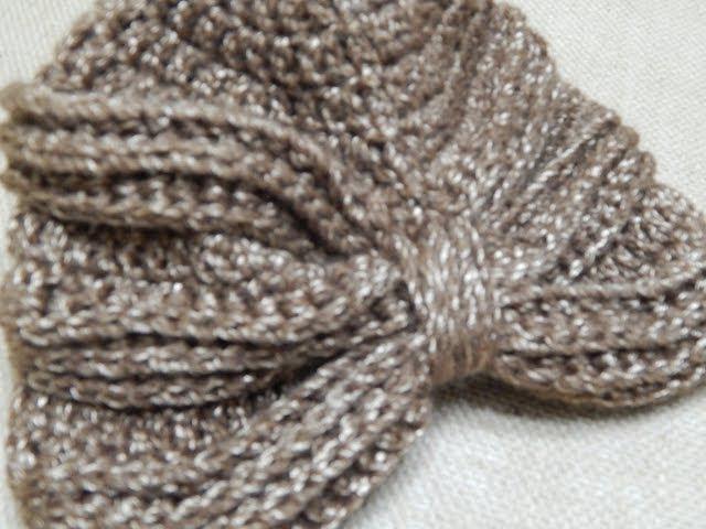 Turbante Crochet paso a paso