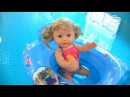 УРОКИ ПЛАВАНИЯ в БАССЕЙН Кукла Беби Бон Эмили Мультик Детский Канал Как Мама