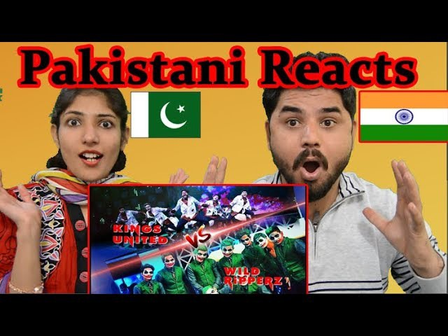 Pakistani Reacts to Kings United vs Wild Ripperz Battle | Dance Champions