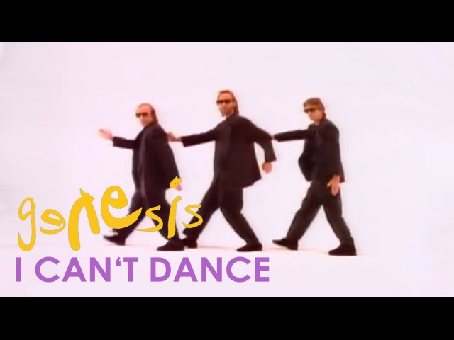 Genesis - I Cant Dance (Official Music Video)