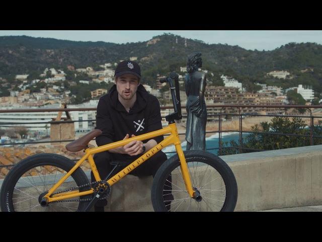 WETHEPEOPLE BMX: Mike Curley BATTLESHIP Bike Check insidebmx