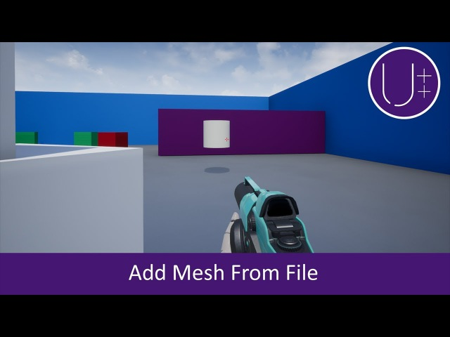 Unreal Engine 4 C Tutorial: Add Mesh from File