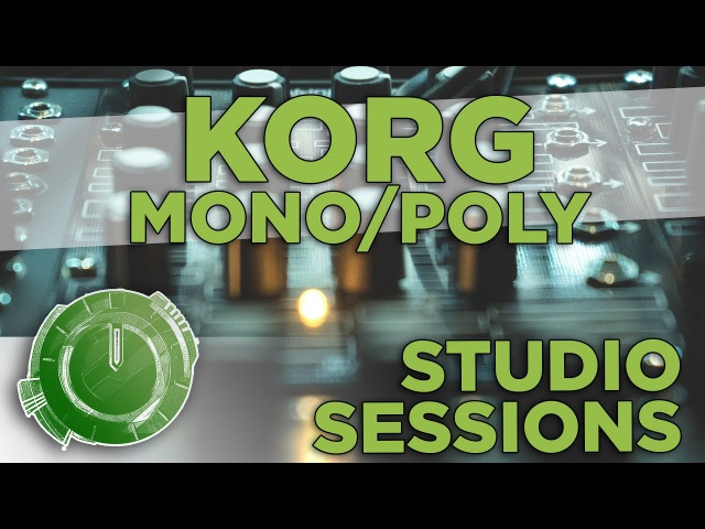 Studio Sessions: Scandroid - Time Crime with the Korg Mono/Poly Synth