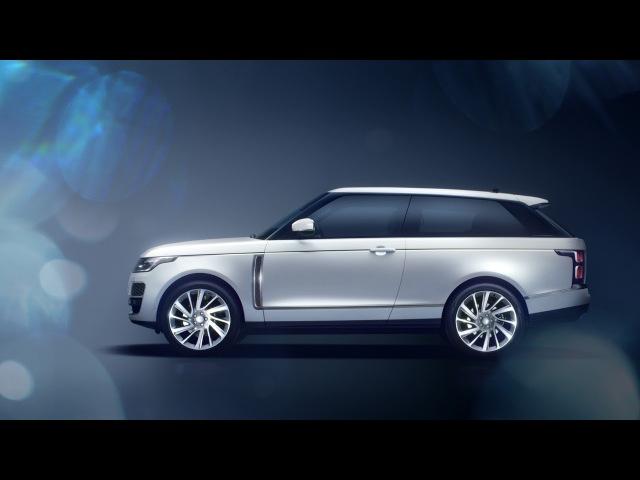 Range Rover SV Coupé – Sumptuous Interior