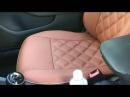 Авточехлы из экокожи B M на VW Jetta 6