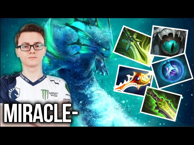 Miracle- Killing and Farming Machine WTF! Unstoppable Morphling - Dota 2