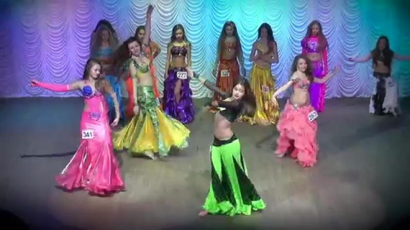 Belly Dance Improvisation ☀ Semifinal Solo ☀ Girls 14-15 yrs ☀ Ukraine Oryantal 19200