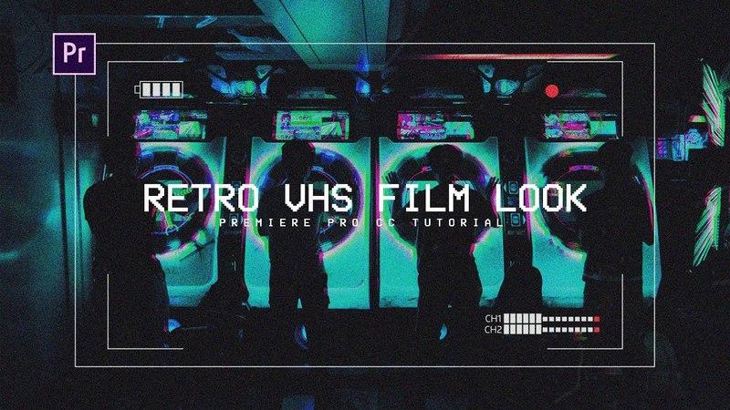 VHS Film Effect/Look - Premiere Pro CC Tutorial ( FREE PRESET)