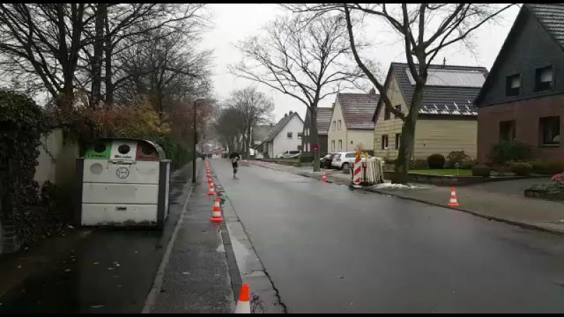 500м до финиша полумарафона в г Хертен Германия Bertlicher