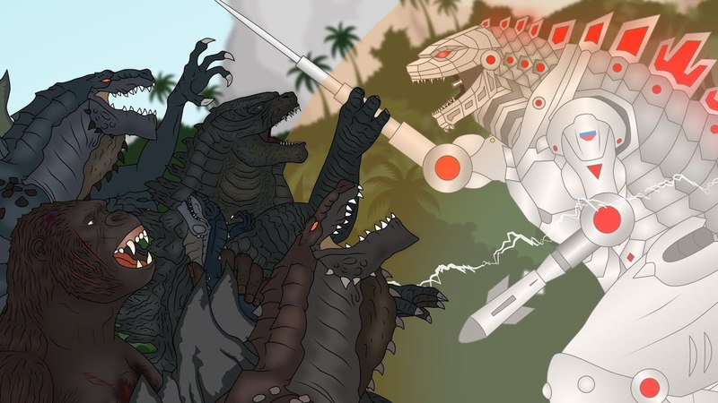 Кинг Конг против Годзиллы 6 - Зилла-Мехагодзилла / King Kong vs. Godzilla - Zilla-Mechagodzilla
