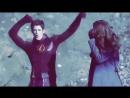 Jennifer Lawrence and Grant Gustin Dancing