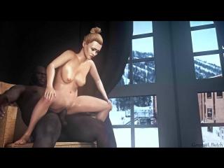 Grandtheft auto porn, bikini lame metallic