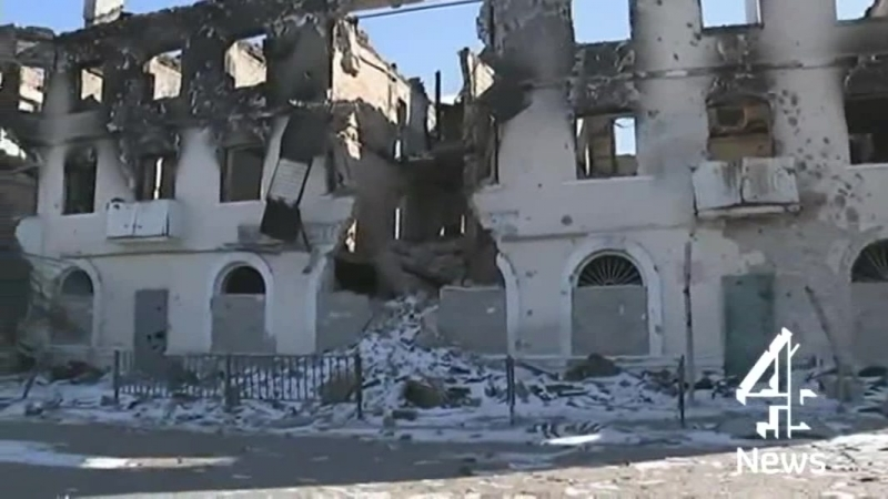 Government troops withdraw from Debaltseve 1