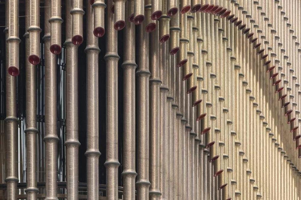 Культурный комплекс в составе финансового центра Шанхая, Китай