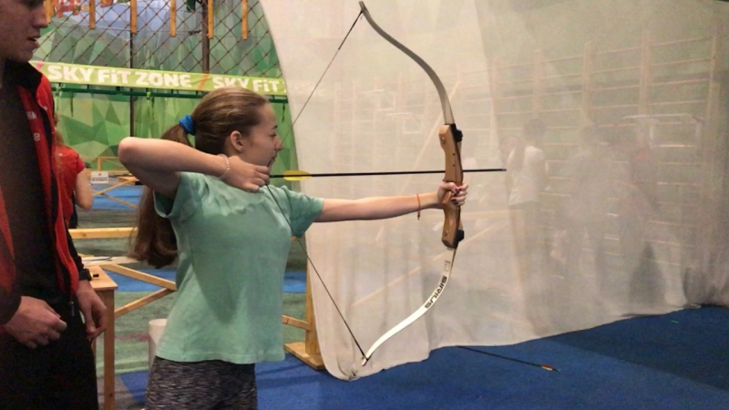 Маша - меткий стрелок