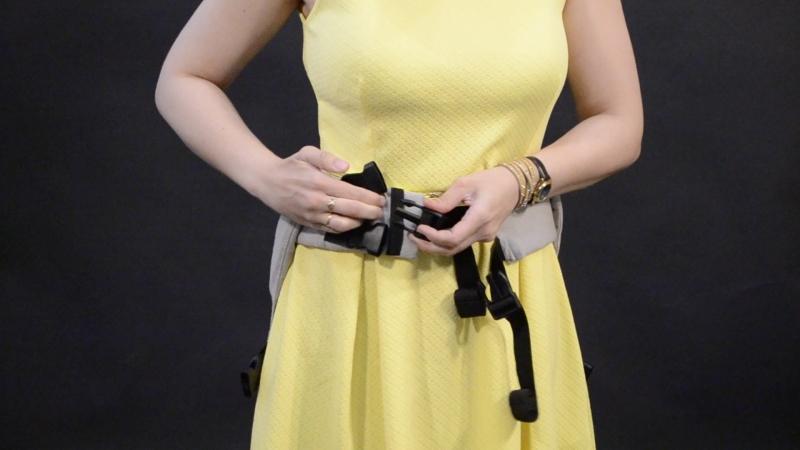1. Резинка на поясе слинга-рюкзака- ТМ Слингуля