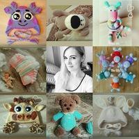 вязаные шапочки зверята и игрушки для малышей вконтакте