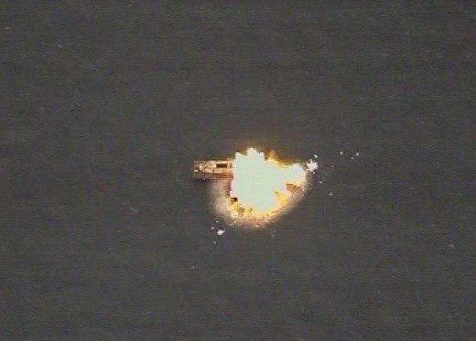 Самолёты морской авиации уничтожили корабли условного противника вЧёрном море
