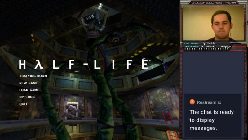 G(ордан)F(римен) и первый Half-life