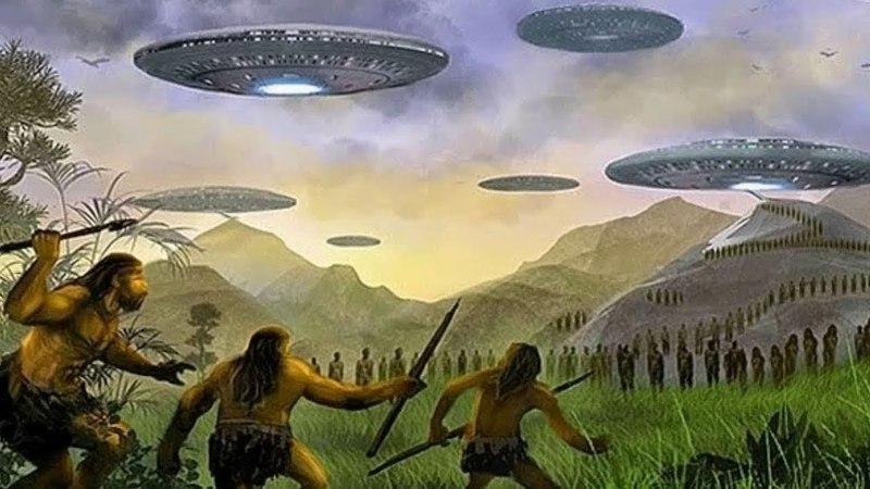 В руках ученых оказались доказательства того, что пришельцы в древности посещали нашу планету