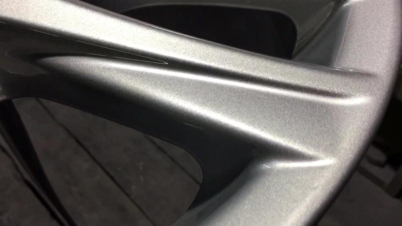 Порошковая покраска дисков в Воронеже. Lexus