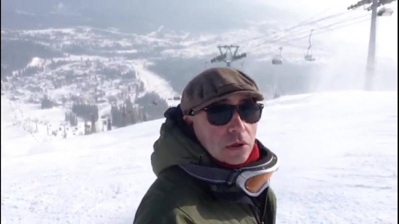 ПАША В ШЕРЕГЕШЕ 2018 февраль ЗЕЛЁНАЯ ГОРКА