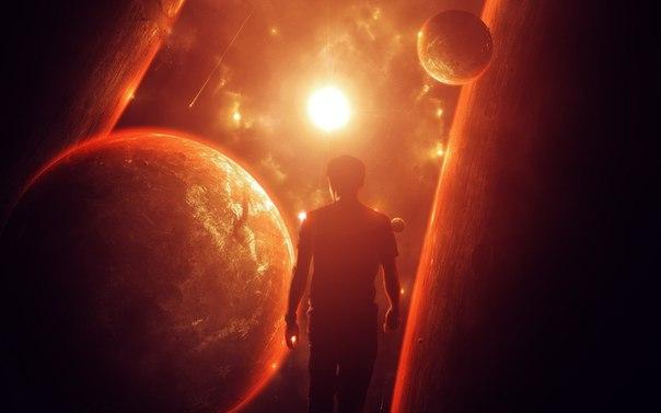 Картинки по запросу человек и космос обои