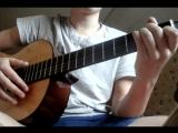 Стих Есенина (заметался пожар голубой)под гитару.
