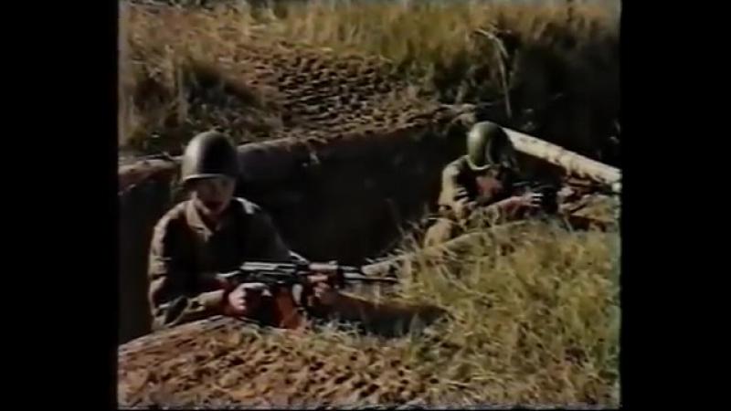 Обкатка танками. Метание УПГ-8 часть 2